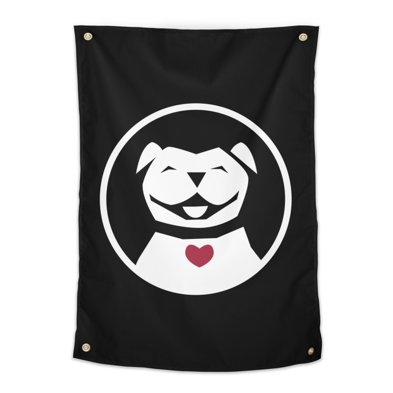 MPBIF Dog in Circle Home Tapestry by My Pit Bull is Family Shop