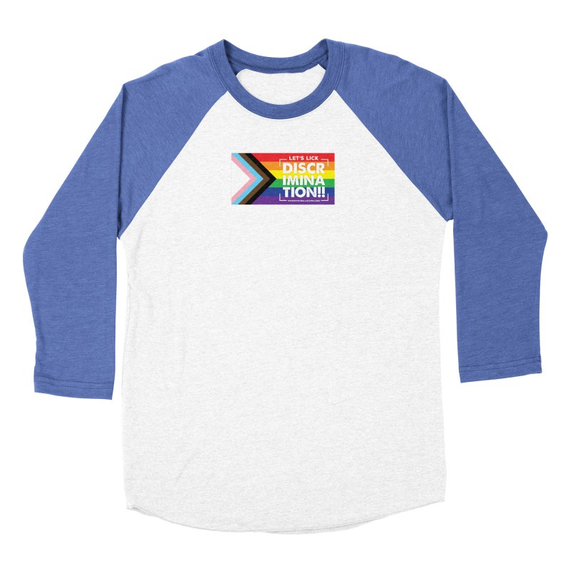MPBIF Progress Pride Rectangle Women's Longsleeve T-Shirt by My Pit Bull is Family Shop
