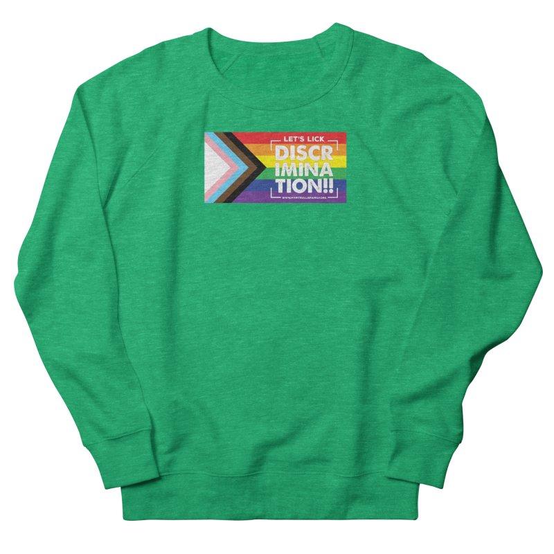 MPBIF Progress Pride Rectangle Women's Sweatshirt by My Pit Bull is Family Shop
