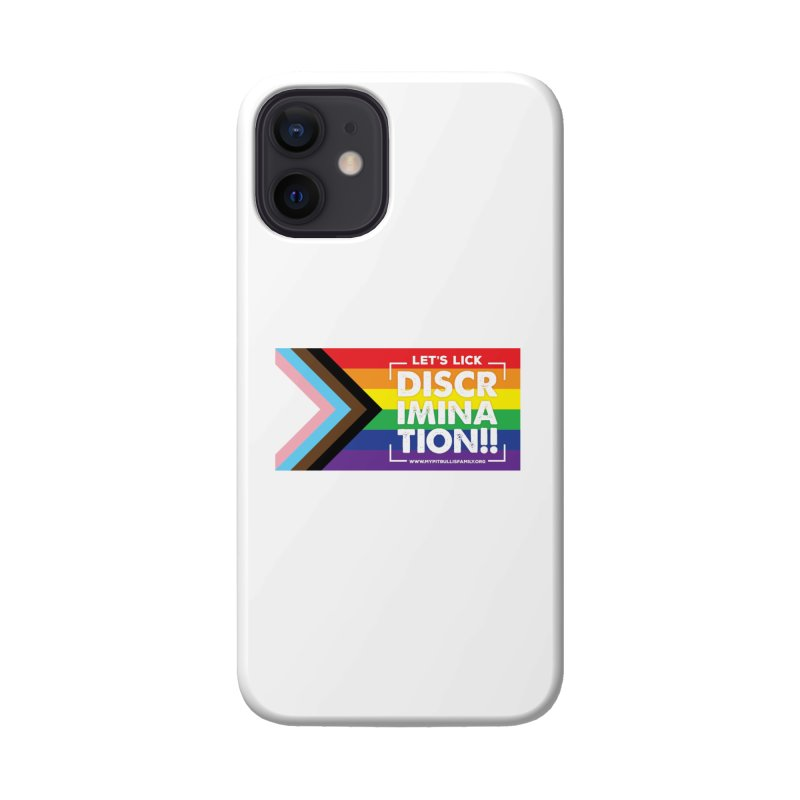 MPBIF Progress Pride Rectangle Accessories Phone Case by My Pit Bull is Family Shop