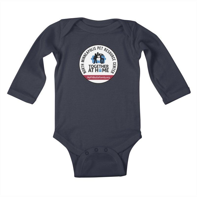 MPBIF North Minneapolis Pet Resource Center Kids Baby Longsleeve Bodysuit by My Pit Bull is Family Shop
