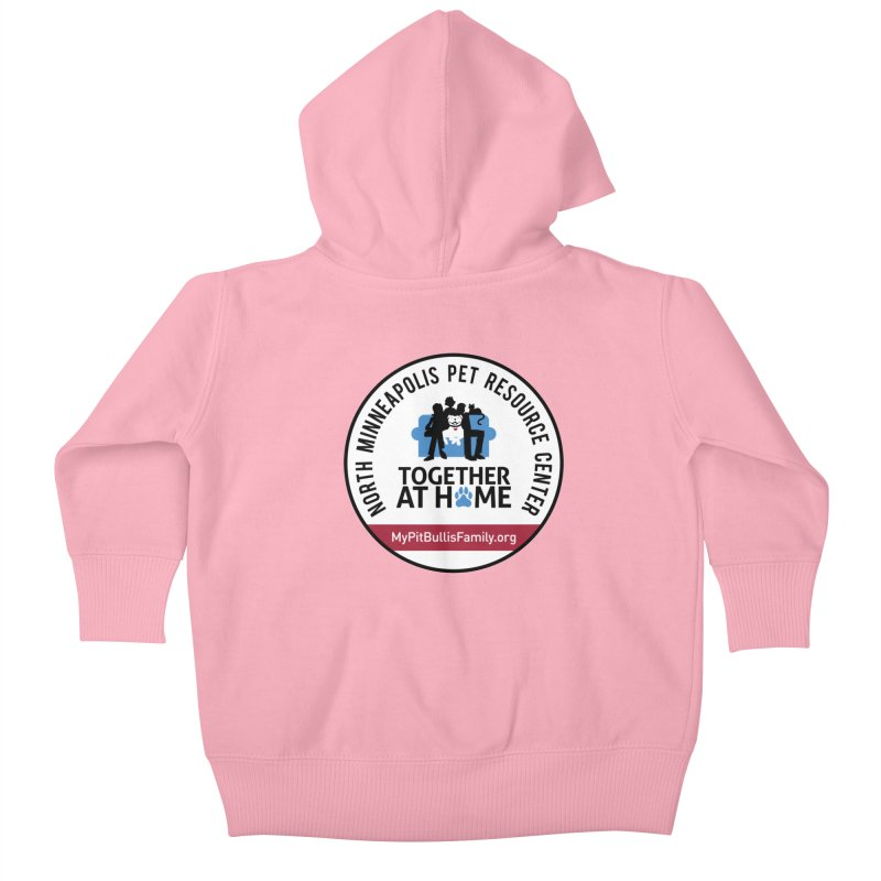 MPBIF North Minneapolis Pet Resource Center Kids Baby Zip-Up Hoody by My Pit Bull is Family Shop