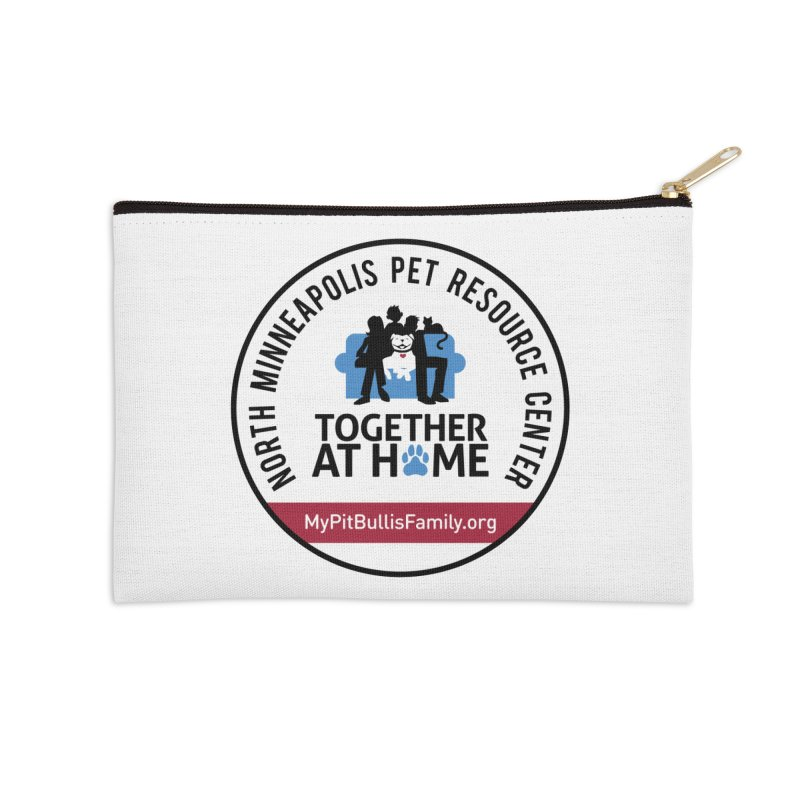 MPBIF North Minneapolis Pet Resource Center Accessories Zip Pouch by My Pit Bull is Family Shop