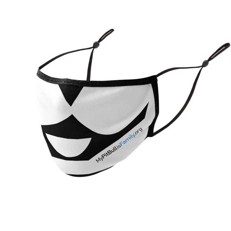 MPBIF Dog Face Mask Accessories Face Mask by My Pit Bull is Family Shop
