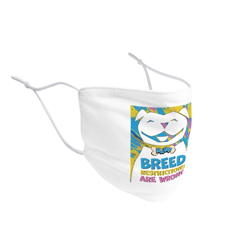 MPBIF & RARF Breed Restrictions Are Wrong Campaign Accessories Face Mask by My Pit Bull is Family Shop