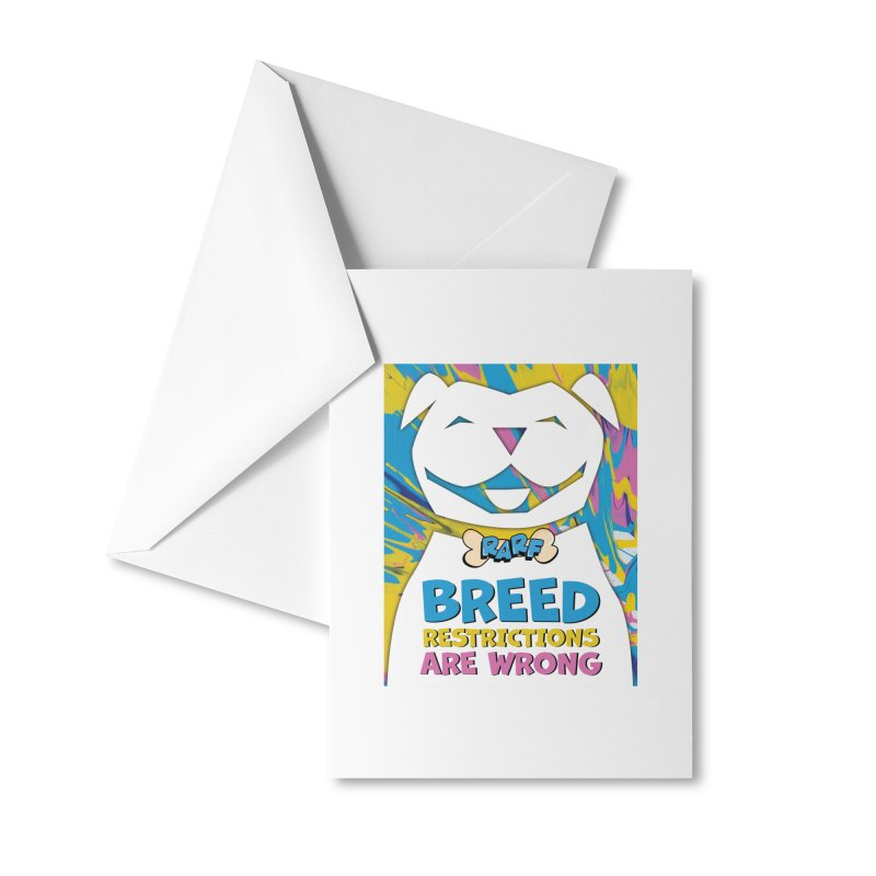 MPBIF & RARF Breed Restrictions Are Wrong Campaign Accessories Greeting Card by My Pit Bull is Family Shop
