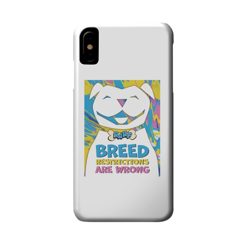 MPBIF & RARF Breed Restrictions Are Wrong Campaign Accessories Phone Case by My Pit Bull is Family Shop