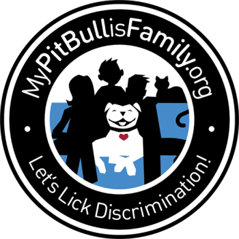 My Pit Bull is Family Shop Logo