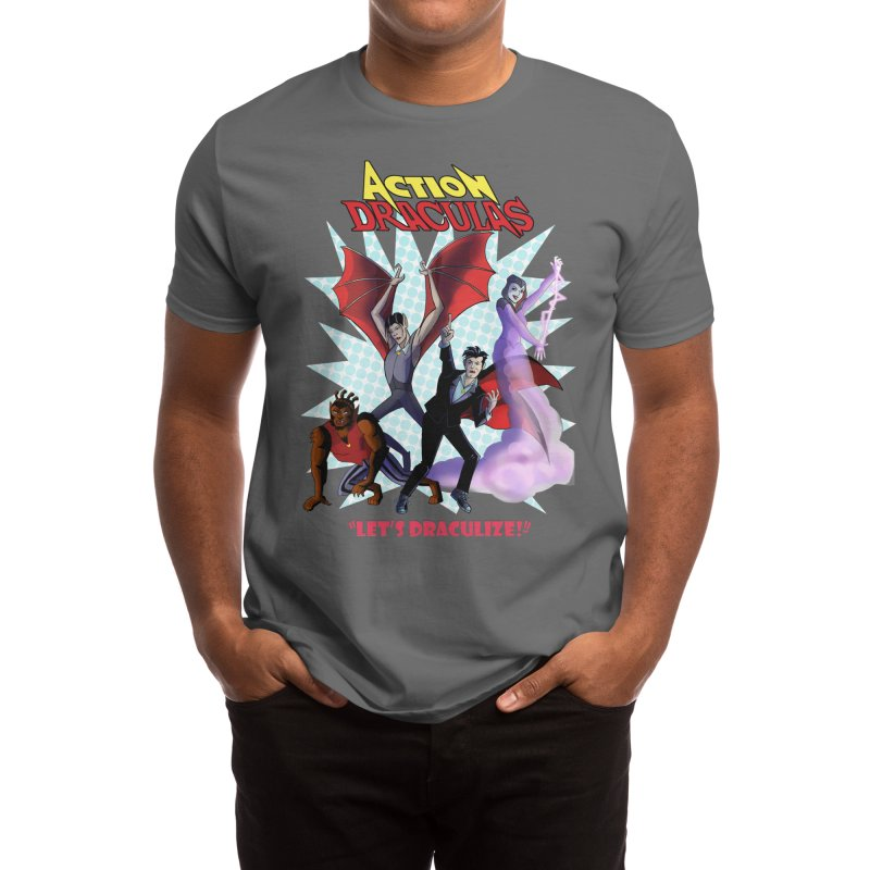 ACTION DRACULAS- LET'S DRACULIZE Men's T-Shirt by Mystery Ranch Shop