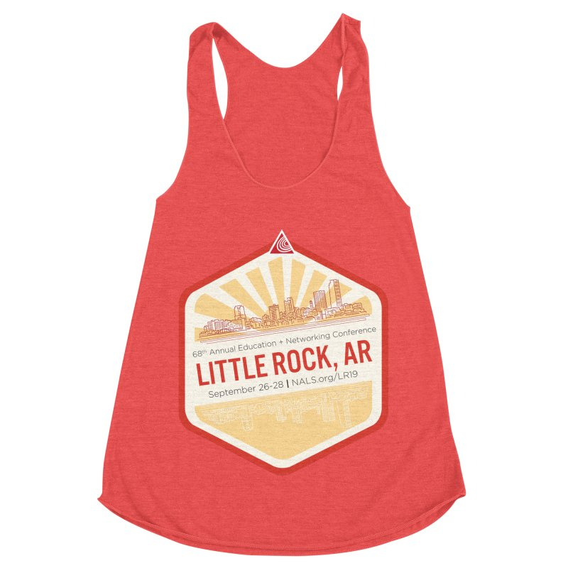 NALS 68th Annual Logo Women's Racerback Triblend Tank by NALS Apparel & Accessories