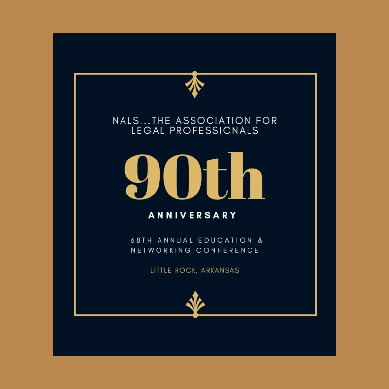 NALS 90th Anniversary by NALS Apparel & Accessories