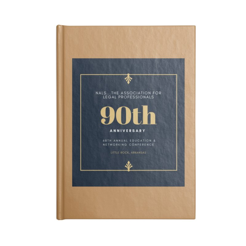 NALS 90th Anniversary Accessories Blank Journal Notebook by NALS Apparel & Accessories