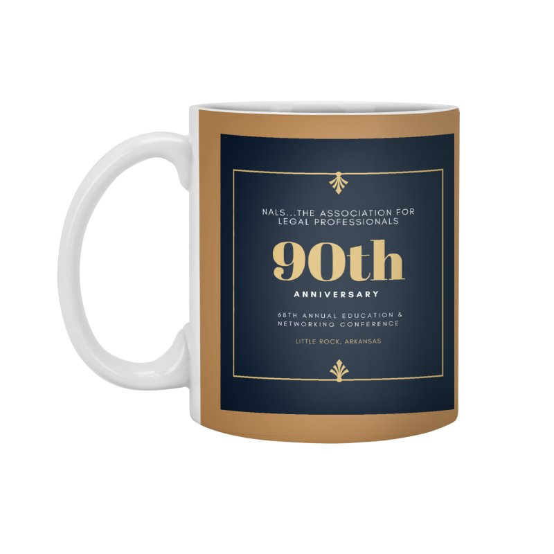 NALS 90th Anniversary Accessories Standard Mug by NALS Apparel & Accessories