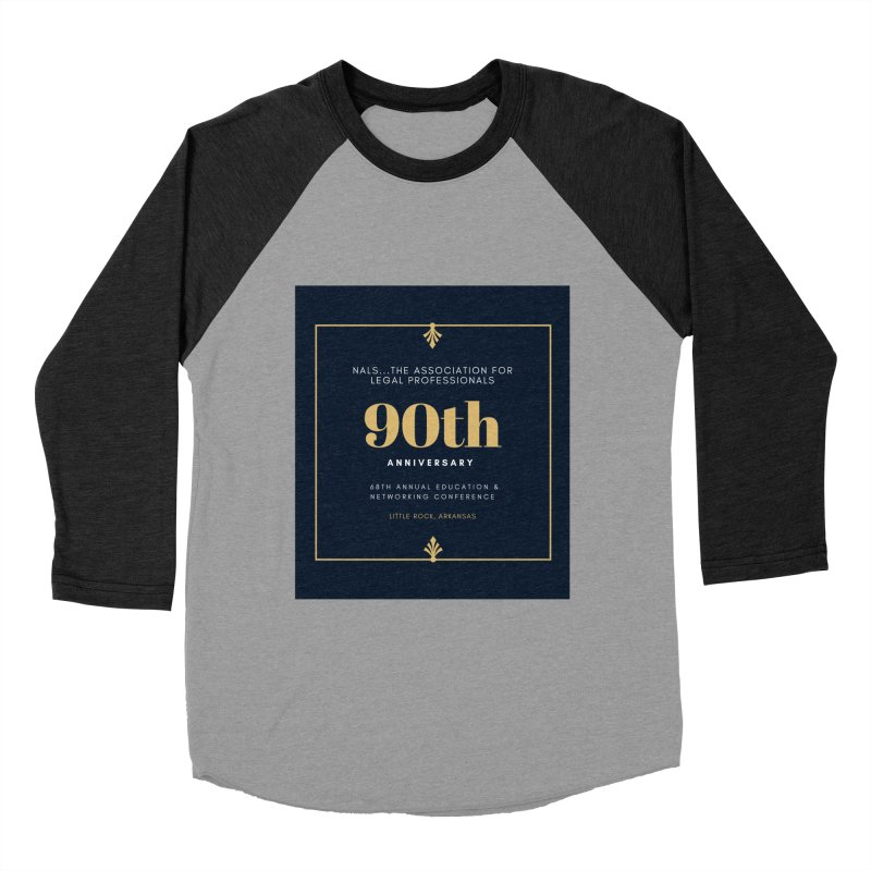 NALS 90th Anniversary Men's Baseball Triblend Longsleeve T-Shirt by NALS Apparel & Accessories
