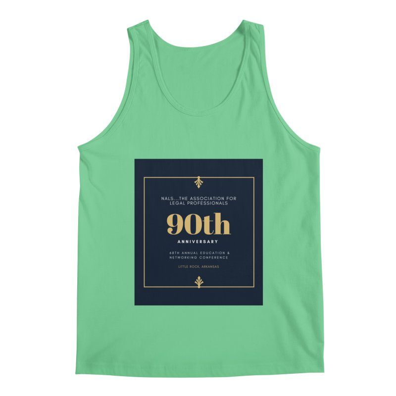 NALS 90th Anniversary Men's Tank by NALS Apparel & Accessories
