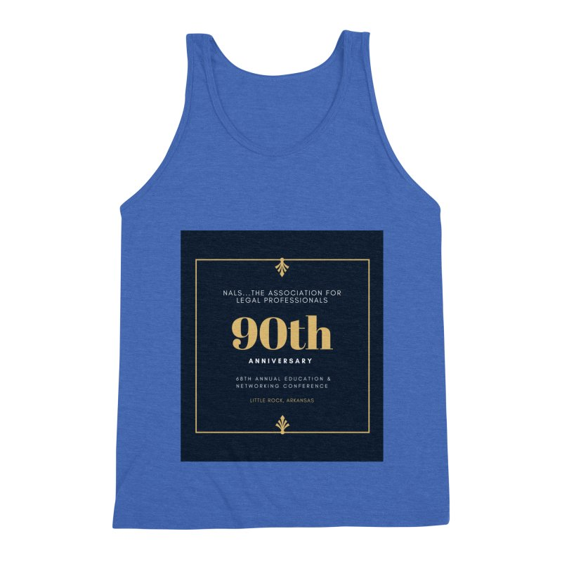 NALS 90th Anniversary Men's Triblend Tank by NALS Apparel & Accessories