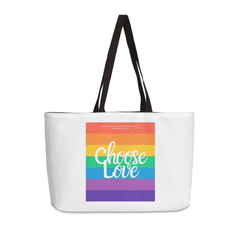 Choose Love Accessories Weekender Bag Bag by NALS Apparel & Accessories