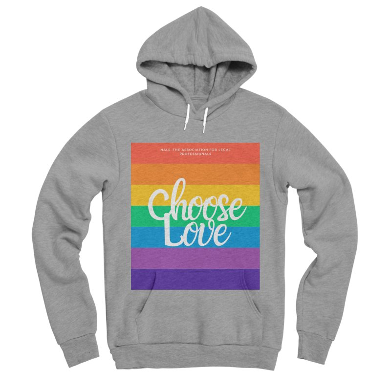 Choose Love Women's Sponge Fleece Pullover Hoody by NALS Apparel & Accessories
