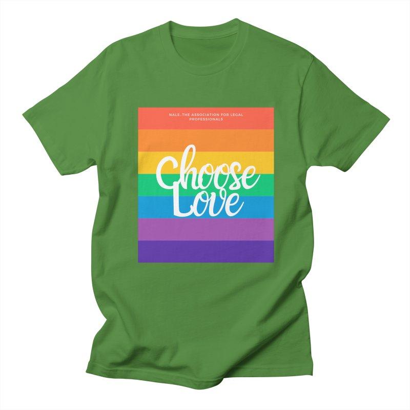 Choose Love Men's Regular T-Shirt by NALS Apparel & Accessories