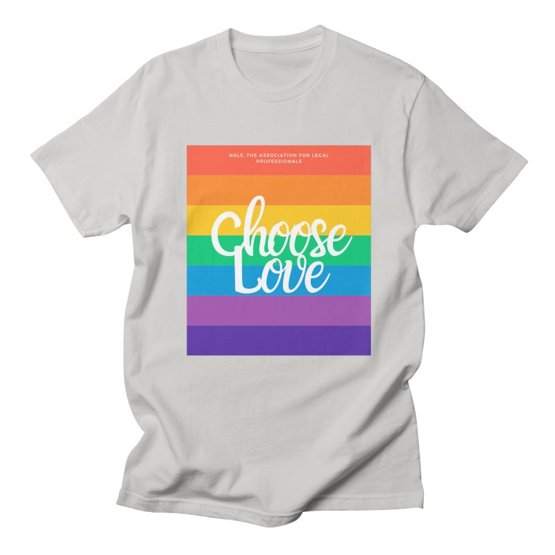 Choose Love Men's Regular T-Shirt by NALS Apparel & Accessories