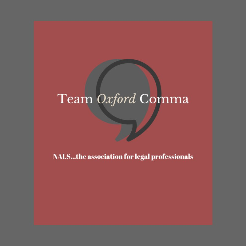 Team Oxford Comma by NALS Apparel & Accessories