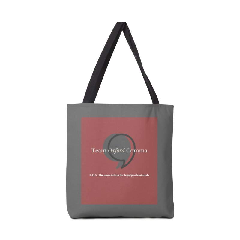 Team Oxford Comma Accessories Tote Bag Bag by NALS Apparel & Accessories
