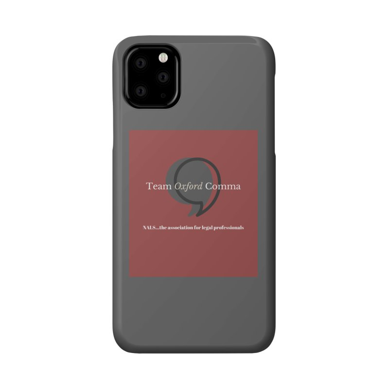 Team Oxford Comma Accessories Phone Case by NALS Apparel & Accessories