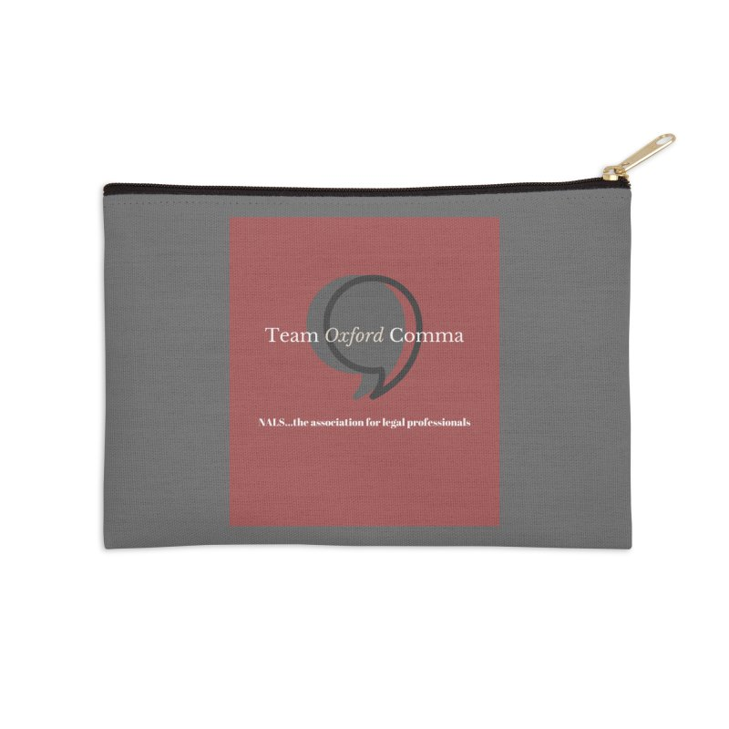Team Oxford Comma Accessories Zip Pouch by NALS Apparel & Accessories