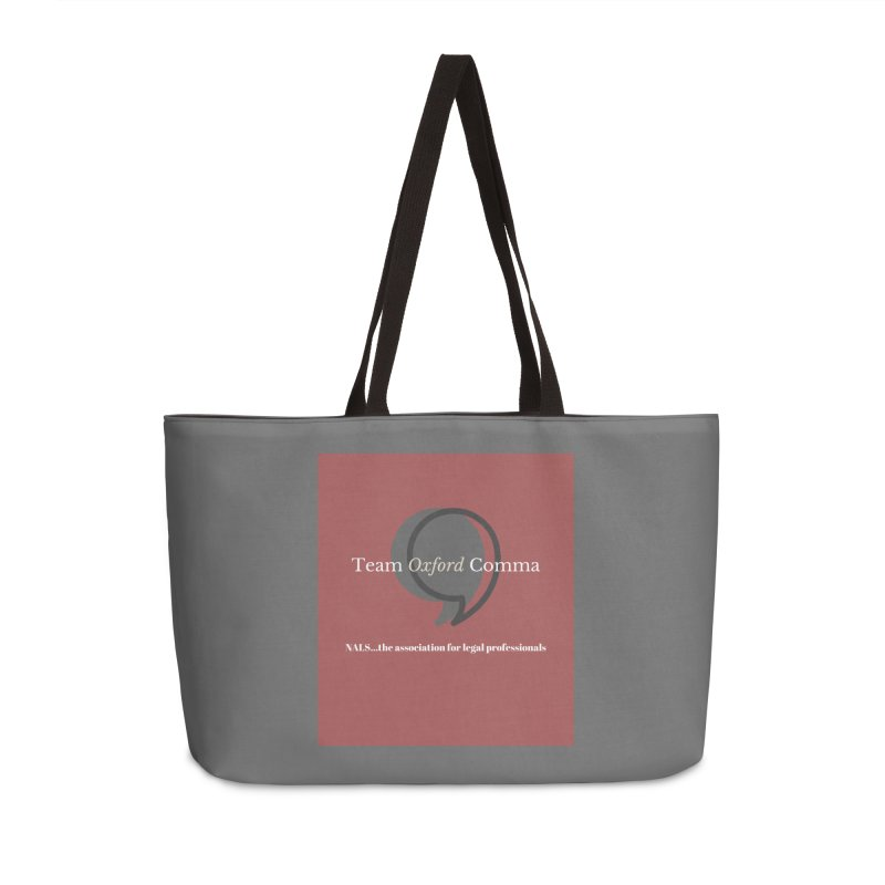 Team Oxford Comma Accessories Weekender Bag Bag by NALS Apparel & Accessories