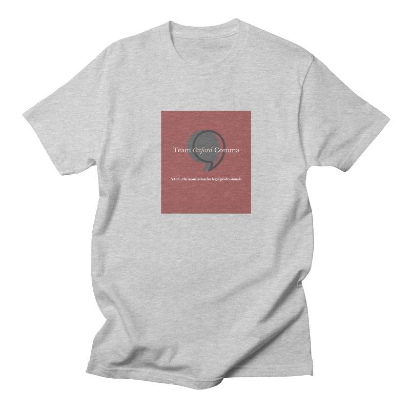 Team Oxford Comma Women's Regular Unisex T-Shirt by NALS Apparel & Accessories
