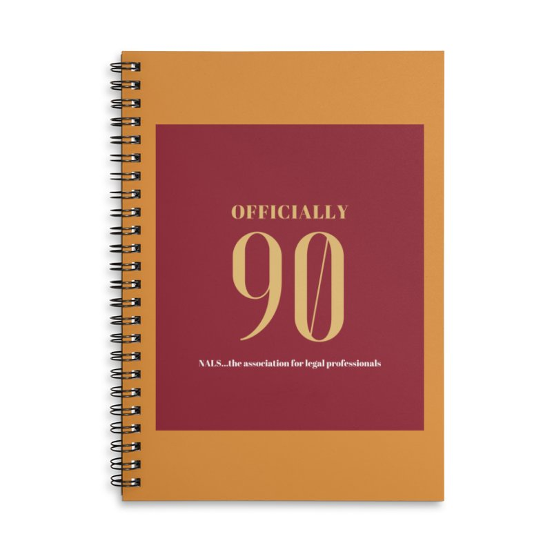 NALS: Officially 90 Accessories Lined Spiral Notebook by NALS Apparel & Accessories