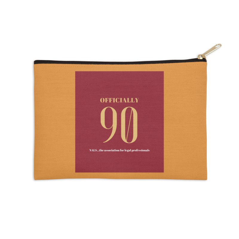 NALS: Officially 90 Accessories Zip Pouch by NALS Apparel & Accessories