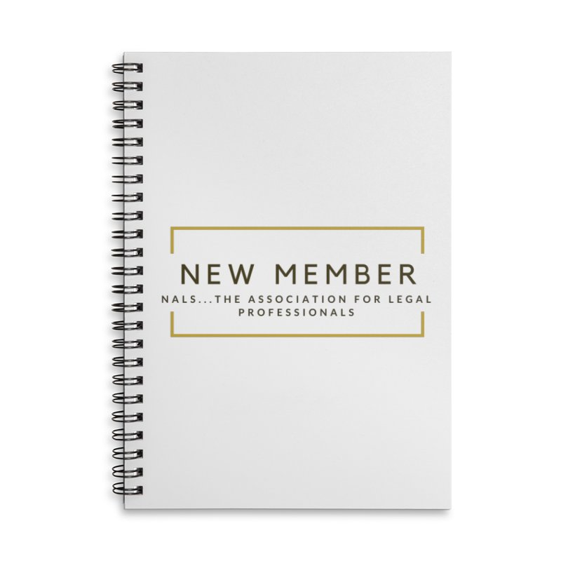 NALS New Member Accessories Lined Spiral Notebook by NALS Apparel & Accessories