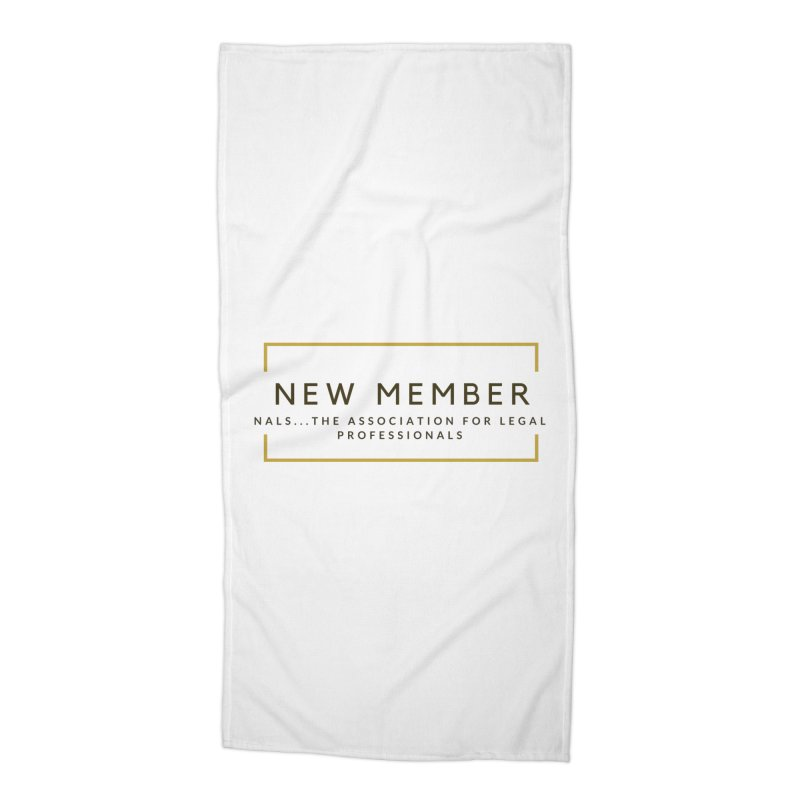 NALS New Member Accessories Beach Towel by NALS Apparel & Accessories