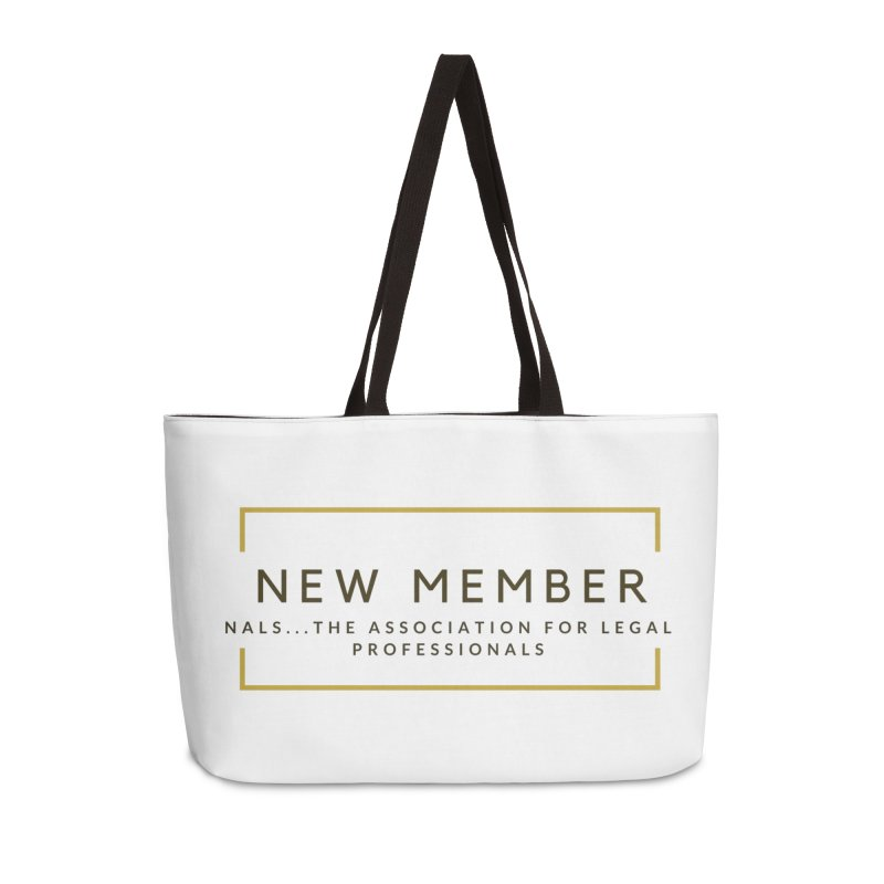 NALS New Member Accessories Weekender Bag Bag by NALS Apparel & Accessories