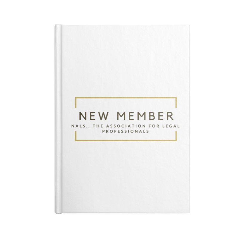 NALS New Member Accessories Blank Journal Notebook by NALS Apparel & Accessories