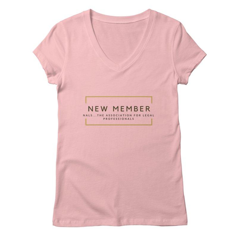 NALS New Member Women's Regular V-Neck by NALS Apparel & Accessories