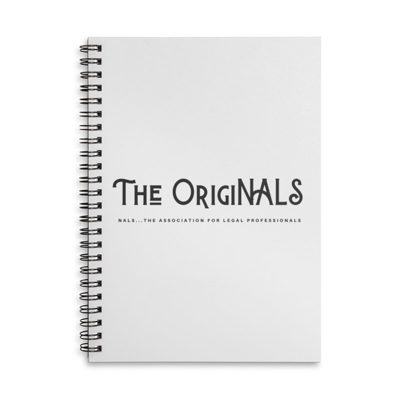 The OrigiNALS Accessories Lined Spiral Notebook by NALS Apparel & Accessories