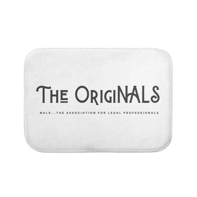 The OrigiNALS Home Bath Mat by NALS Apparel & Accessories