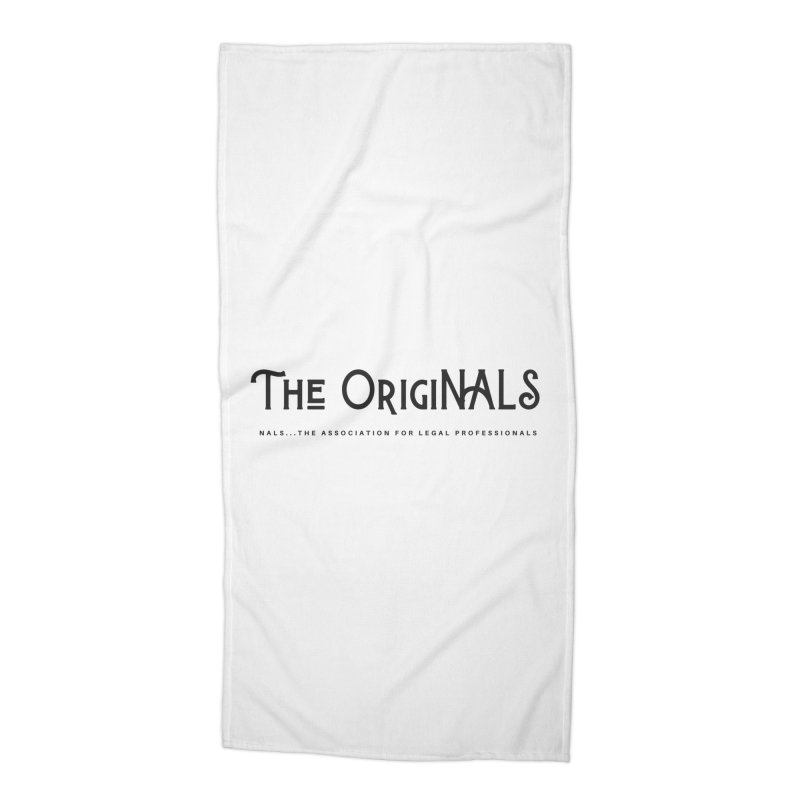 The OrigiNALS Accessories Beach Towel by NALS Apparel & Accessories