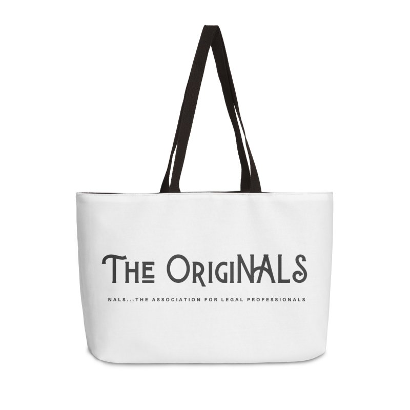The OrigiNALS Accessories Weekender Bag Bag by NALS Apparel & Accessories