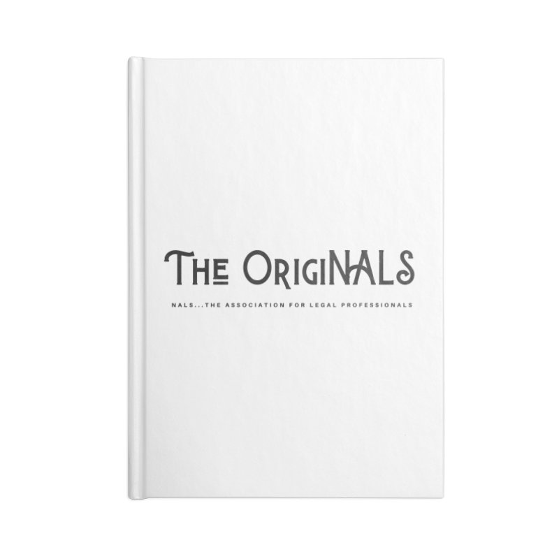 The OrigiNALS Accessories Blank Journal Notebook by NALS Apparel & Accessories