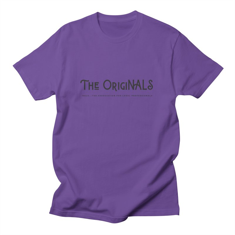 The OrigiNALS Men's Regular T-Shirt by NALS Apparel & Accessories