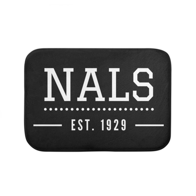 NALS: Established in 1929 Home Bath Mat by NALS Apparel & Accessories