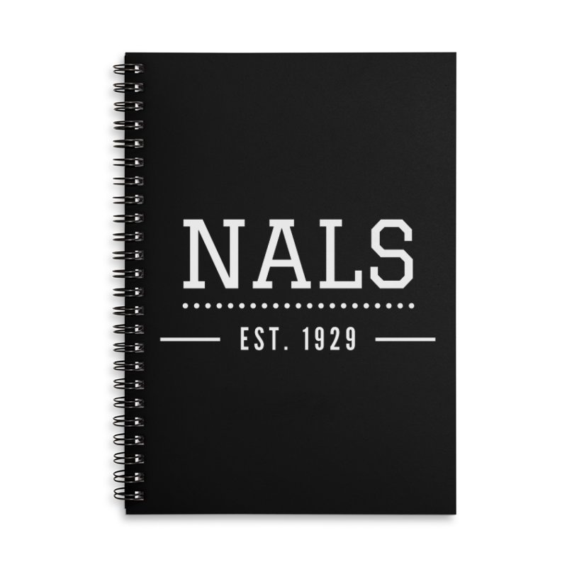 NALS: Established in 1929 Accessories Lined Spiral Notebook by NALS Apparel & Accessories