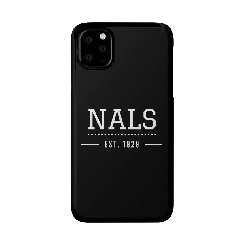 NALS: Established in 1929 Accessories Phone Case by NALS Apparel & Accessories