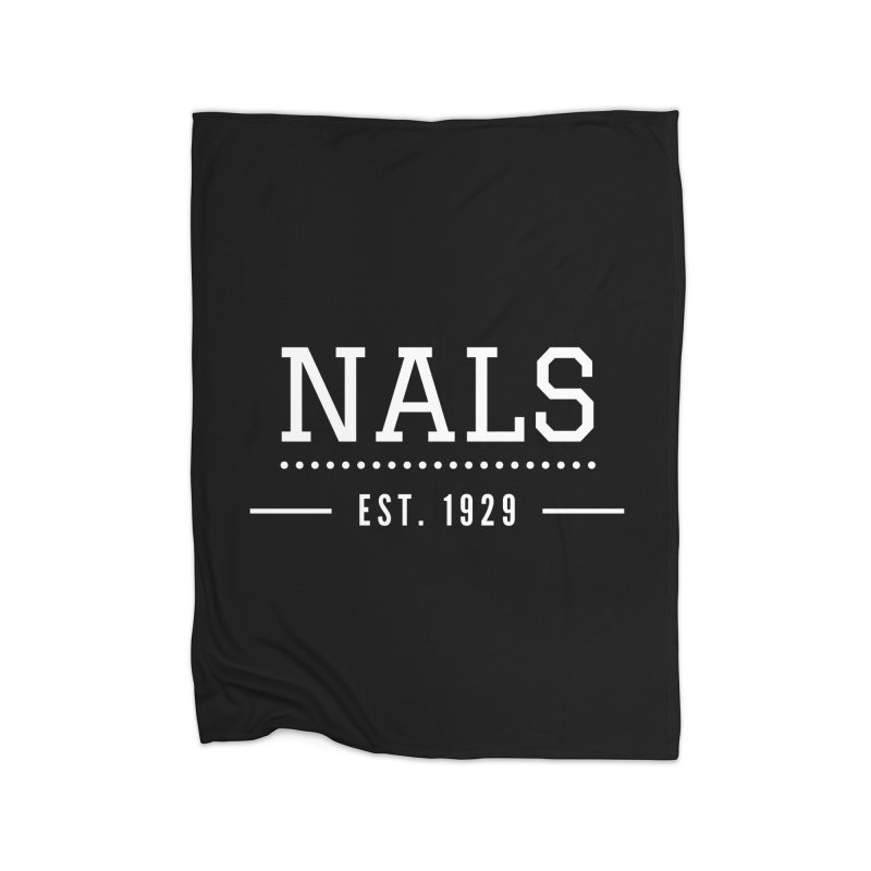 NALS: Established in 1929 Home Blanket by NALS Apparel & Accessories