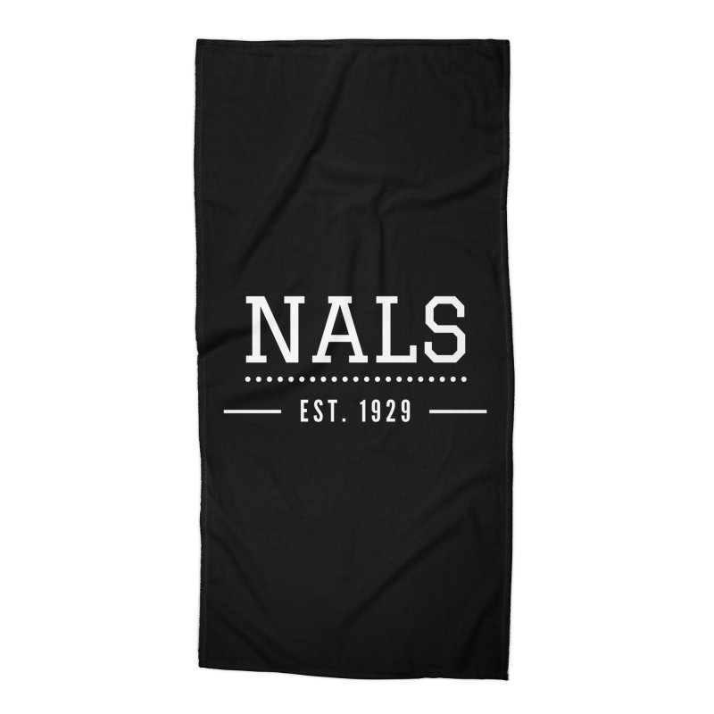 NALS: Established in 1929 Accessories Beach Towel by NALS Apparel & Accessories