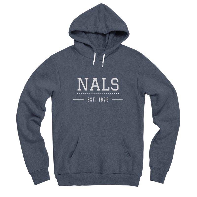 NALS: Established in 1929 Men's Sponge Fleece Pullover Hoody by NALS Apparel & Accessories