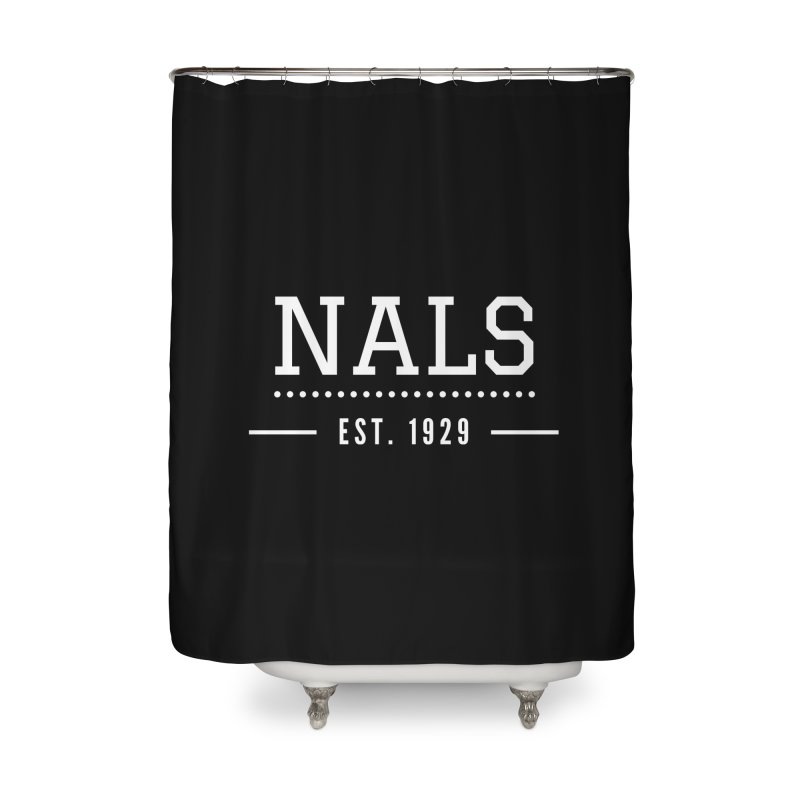 NALS: Established in 1929 Home Shower Curtain by NALS Apparel & Accessories